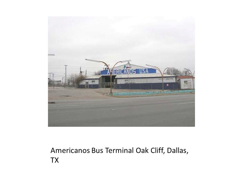 Americanos Bus Terminal Oak Cliff, Dallas, TX