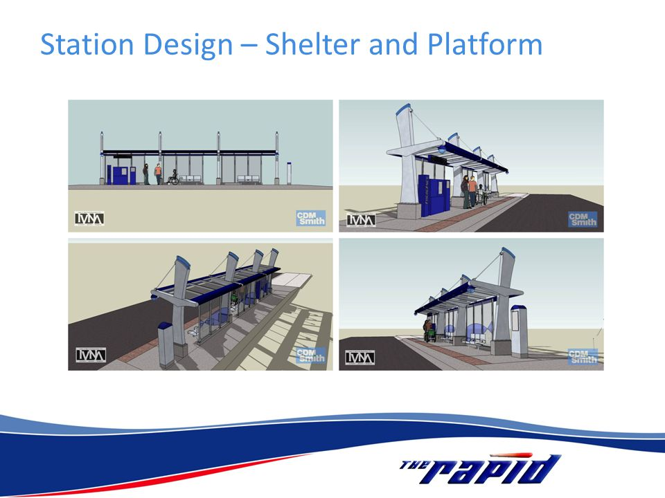 Station Design – Shelter and Platform