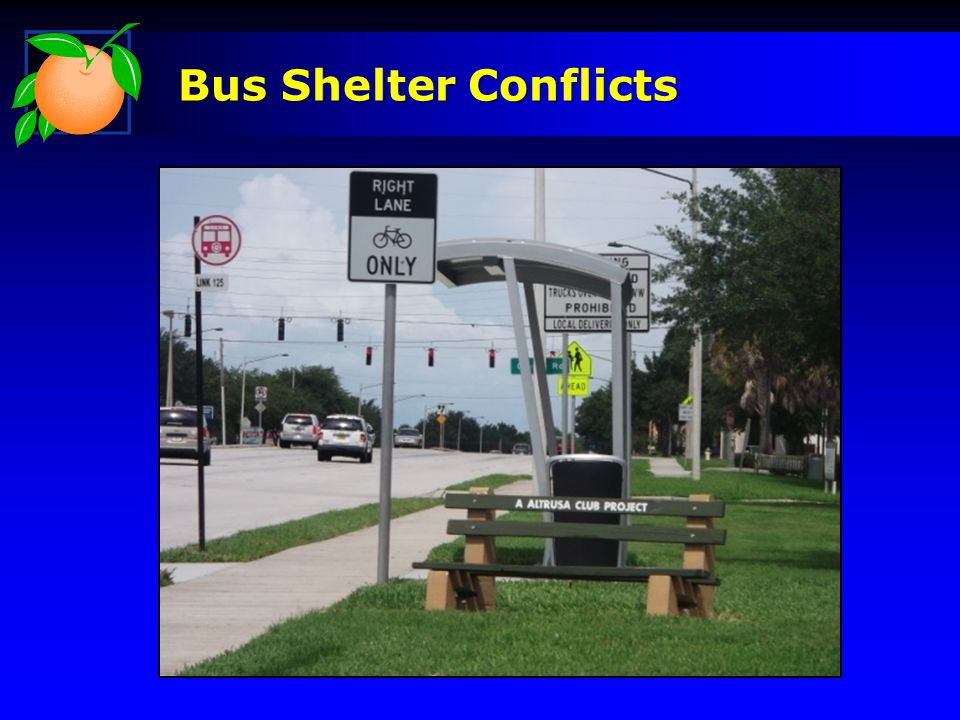 Bus Shelter Conflicts