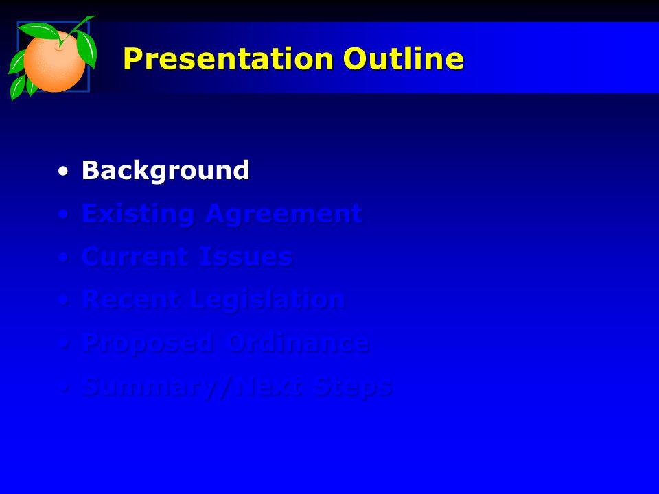 Maintenance: Performance MeasuresPerformance Measures Inventory/InspectionInventory/Inspection Litter/Graffiti RemovalLitter/Graffiti Removal Lawn Mowing/WeedingLawn Mowing/Weeding Proposed Ordinance