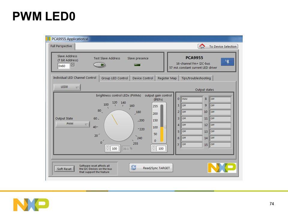 PWM LED0 74