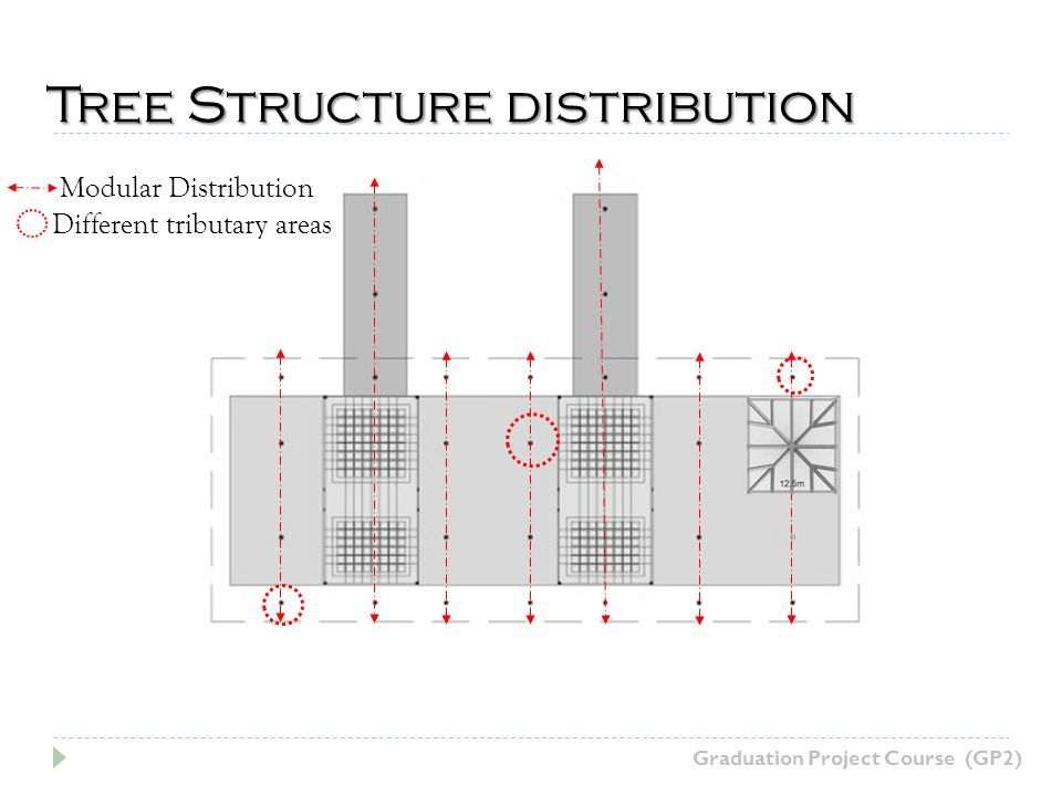 Modular Distribution Tree Structure distribution Different tributary areas Graduation Project Course (GP2)