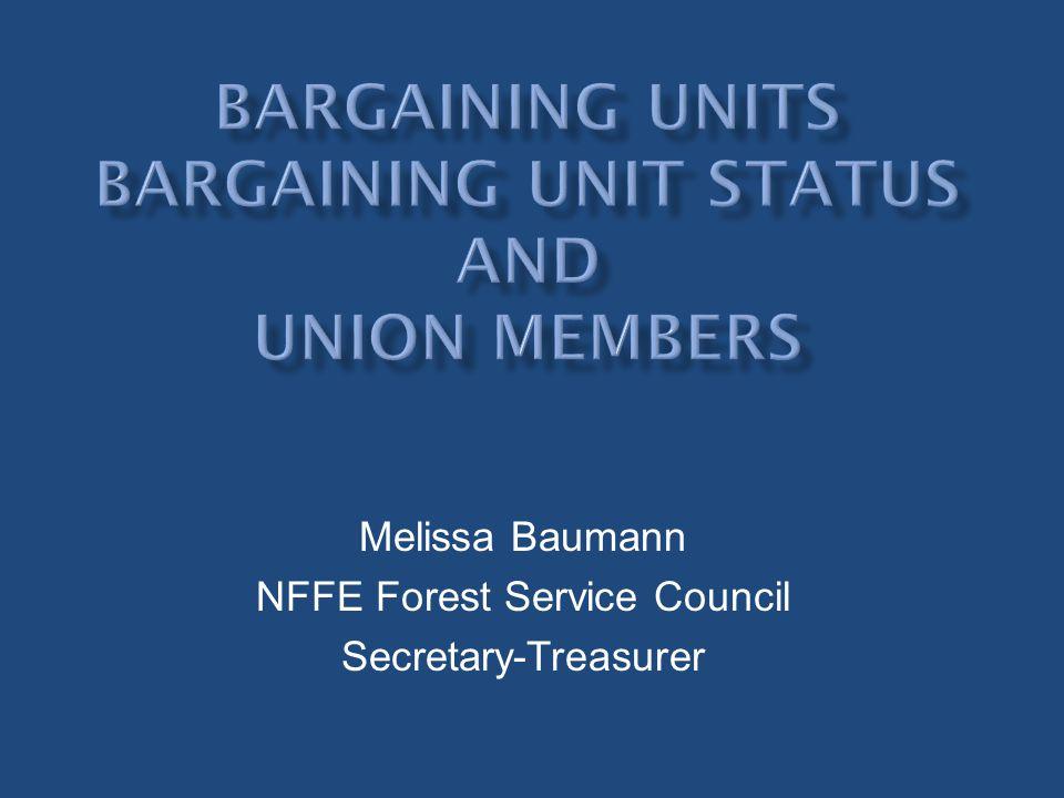 Melissa Baumann NFFE Forest Service Council Secretary-Treasurer