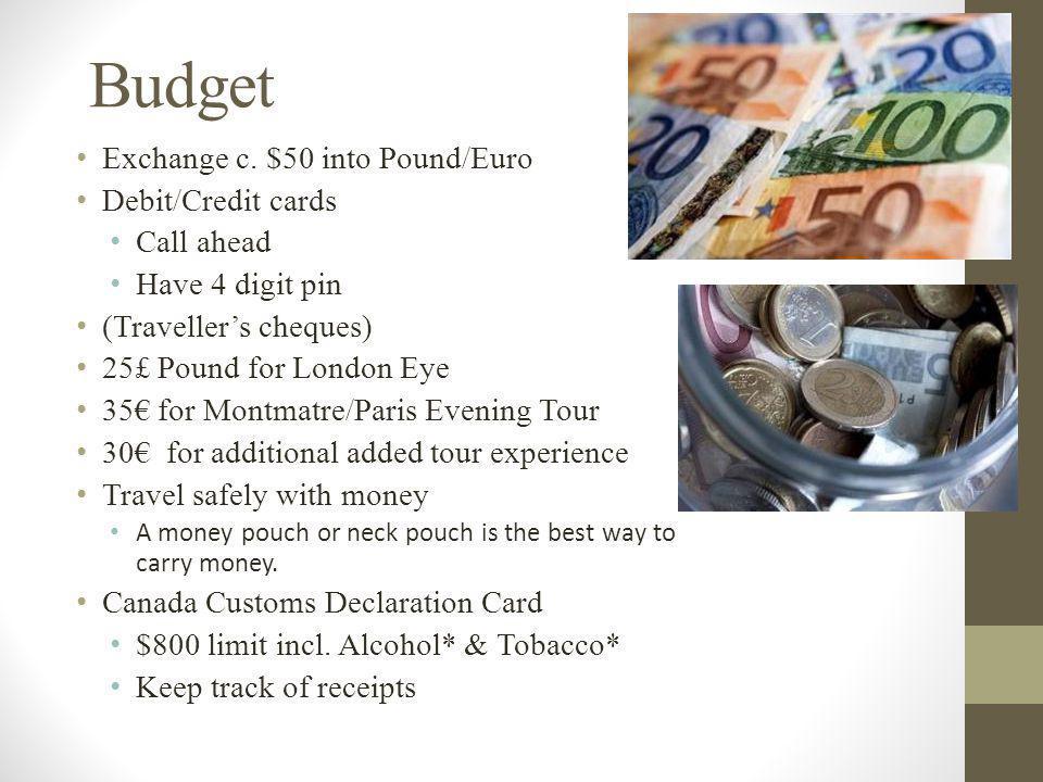 Budget Exchange c.
