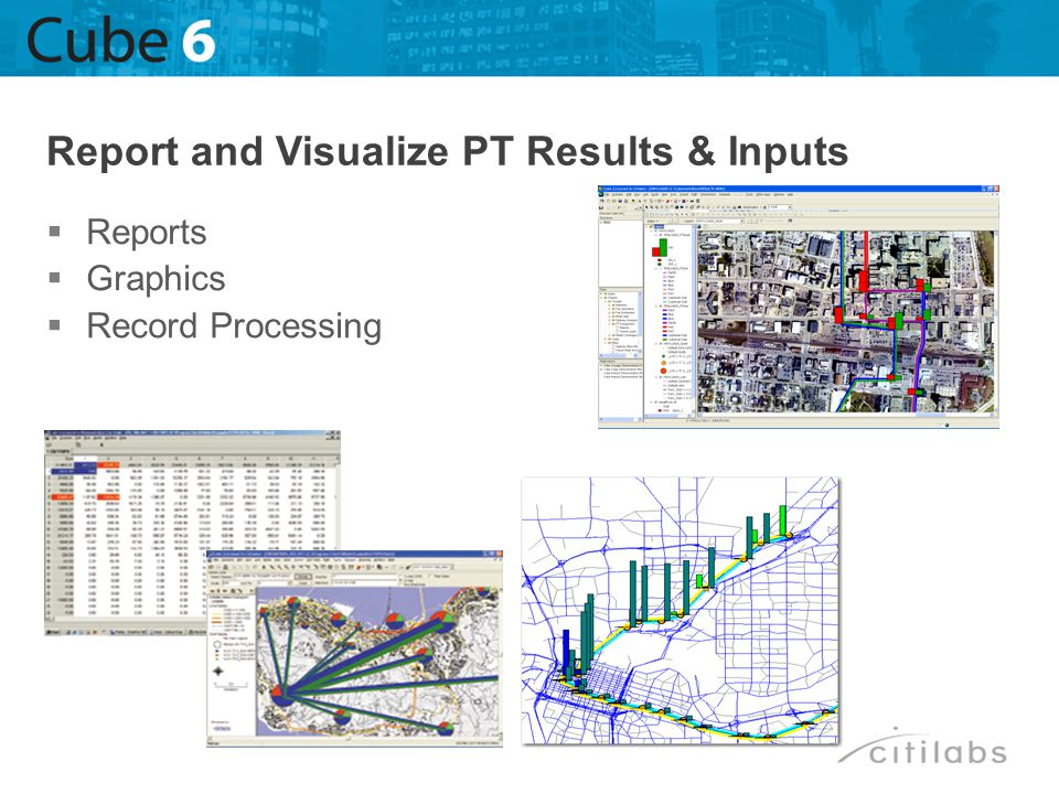 Reports Graphics Record Processing Report and Visualize PT Results & Inputs