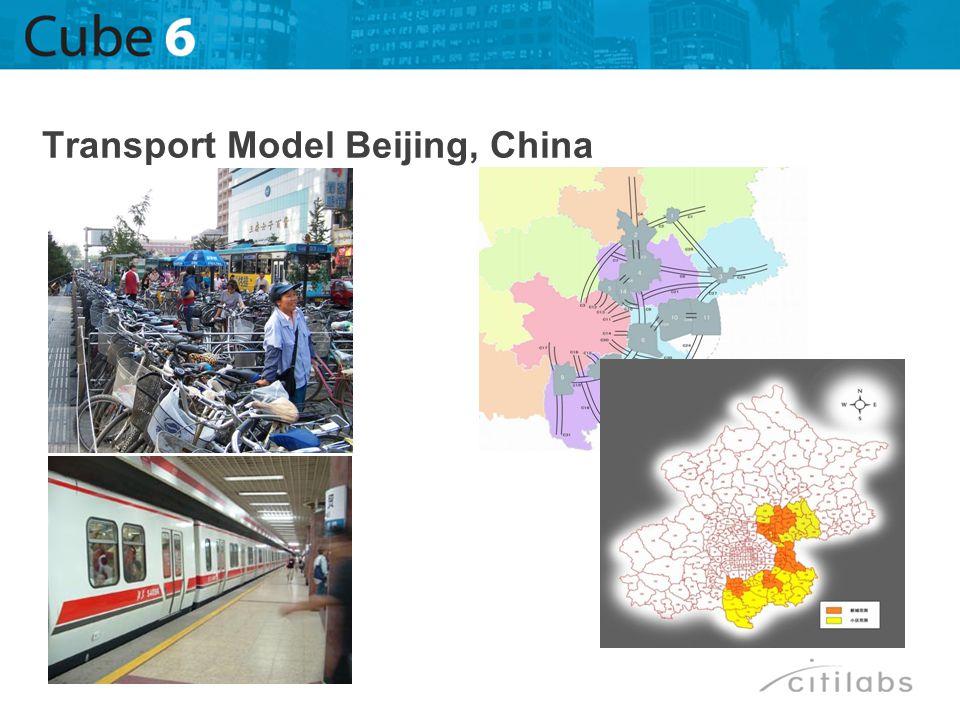 Transport Model Beijing, China