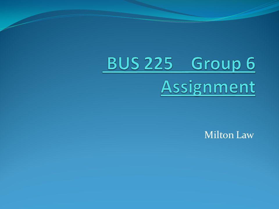 Milton Law