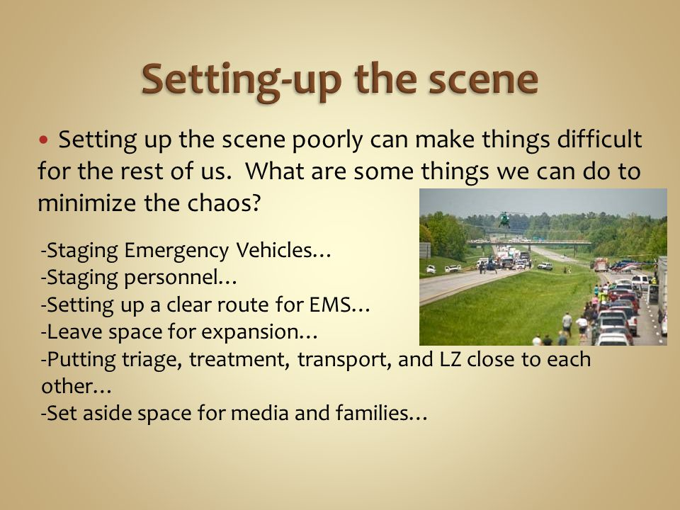 Setting up the scene poorly can make things difficult for the rest of us.