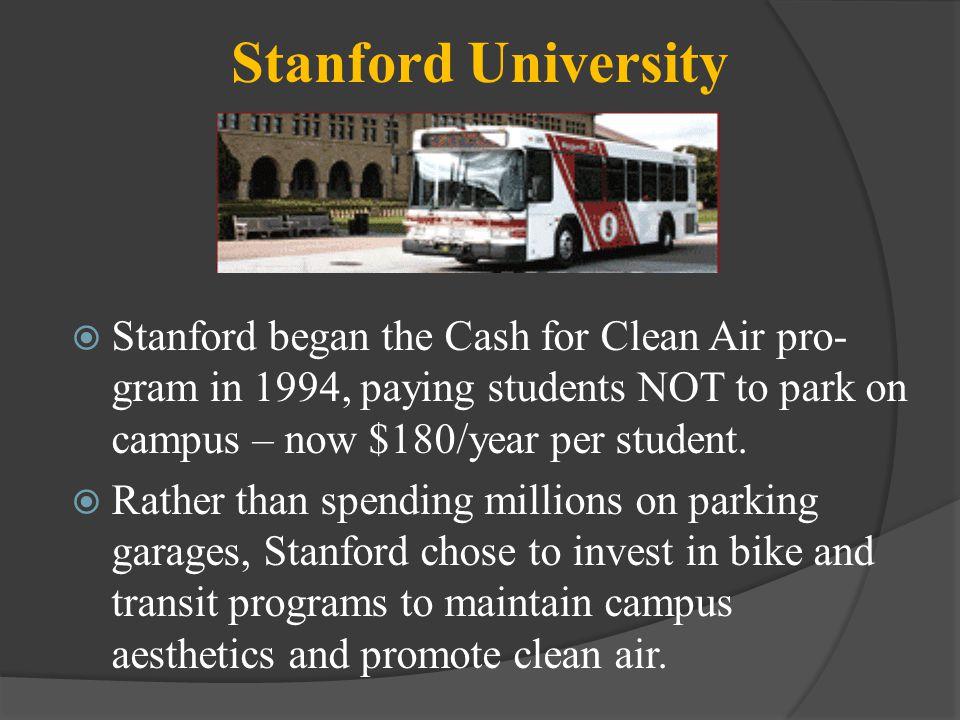 UC Santa Cruz The University invests in transit & bike paths.