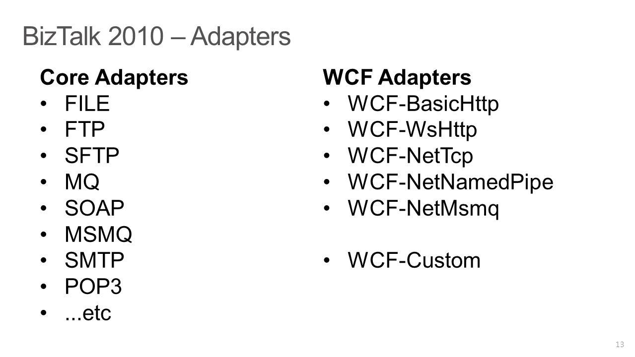 BizTalk 2010 – Adapters 13