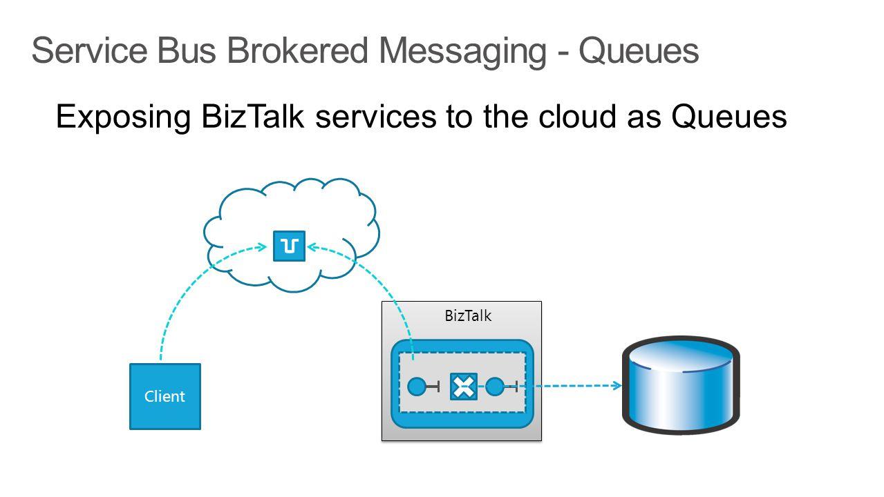 BizTalk Service Bus Brokered Messaging - Queues Client