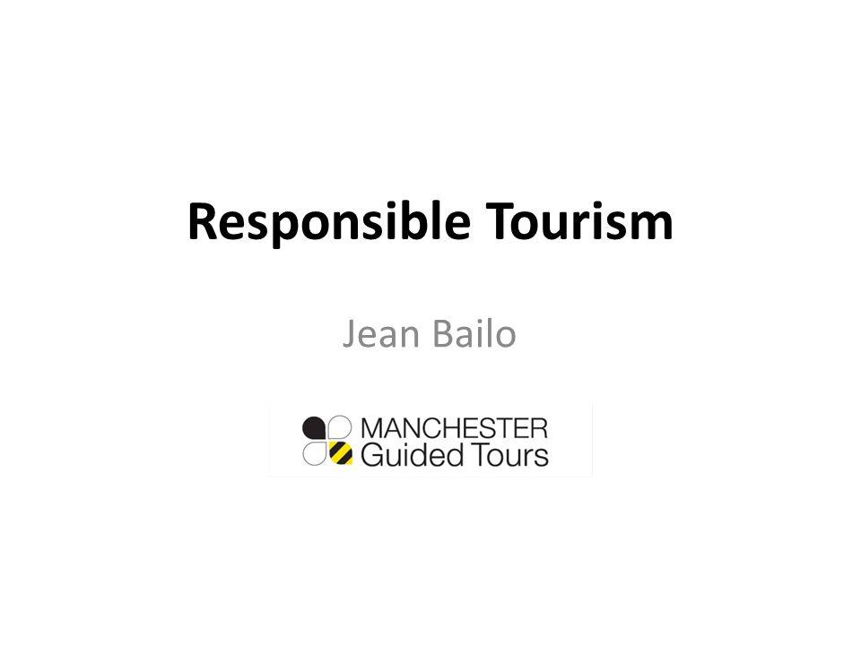 Responsible Tourism Jean Bailo