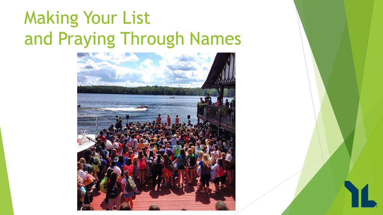 Making Your List and Praying Through Names