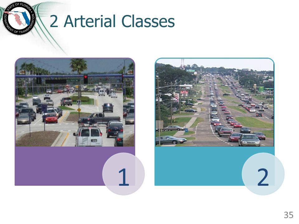 2 Arterial Classes 12 35