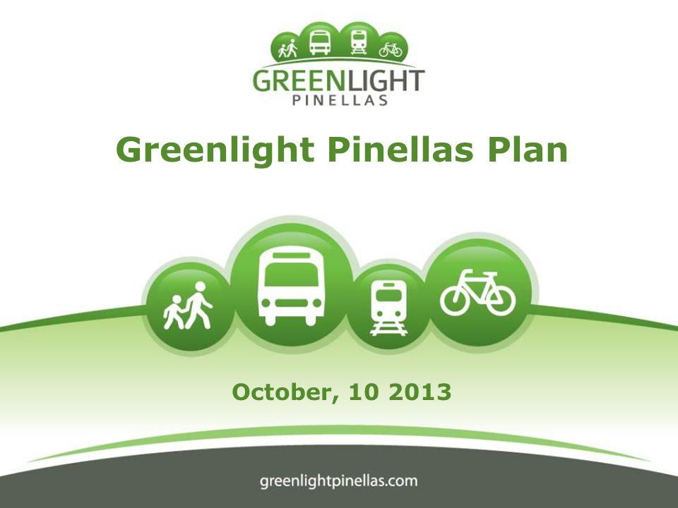 Greenlight Pinellas Plan October, 10 2013