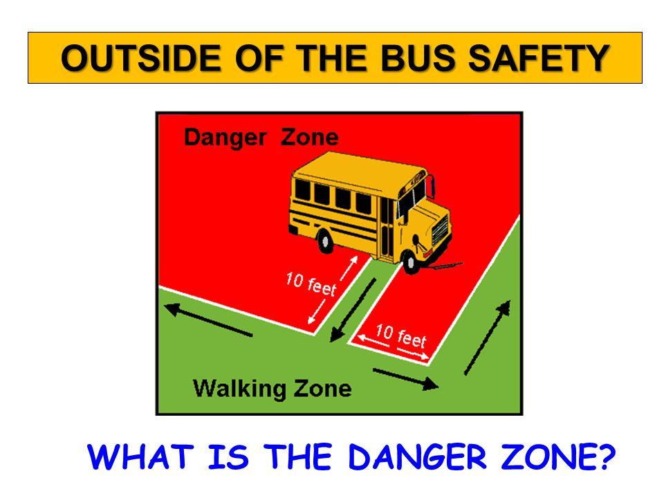 When asked by the bus driver, children should… Obey the driver Talk quietly Keep hands and feet to self Stay seated faced forward Keep the aisle clear SCHOOL BUS RULES RIDING THE BUS SAFELY
