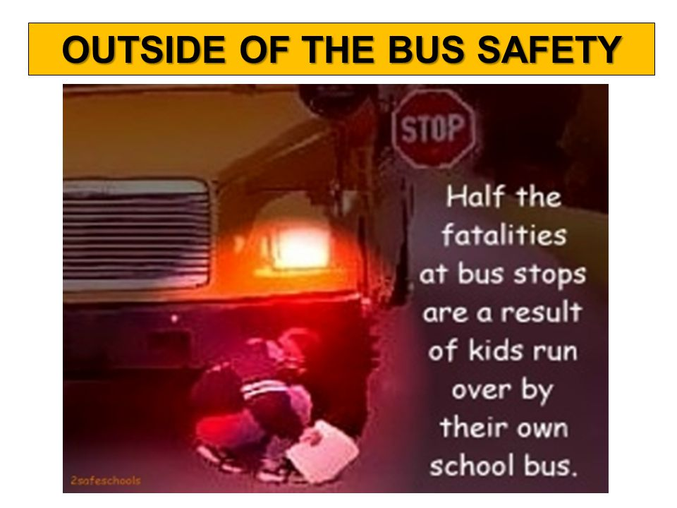 WHAT IS THE DANGER ZONE OUTSIDE OF THE BUS SAFETY