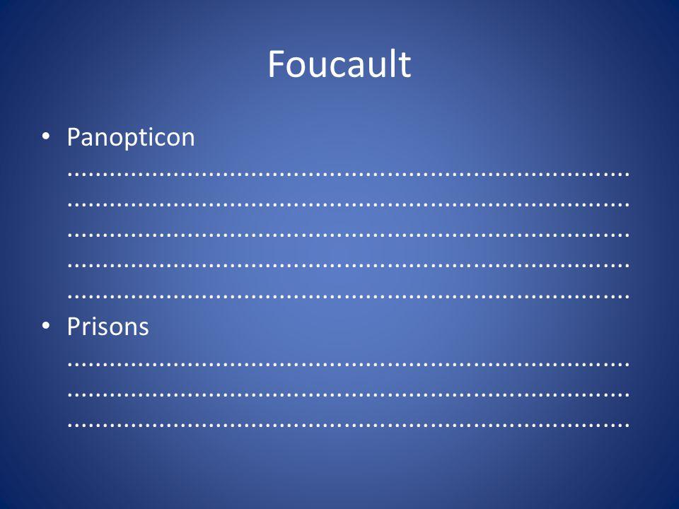 Foucault Panopticon...........................................................................................................................................................................................................................................................................................................................................................................................................