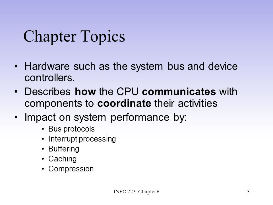 14 Logical and Physical Access An I/O port is a communication pathway from the CPU to a peripheral device.