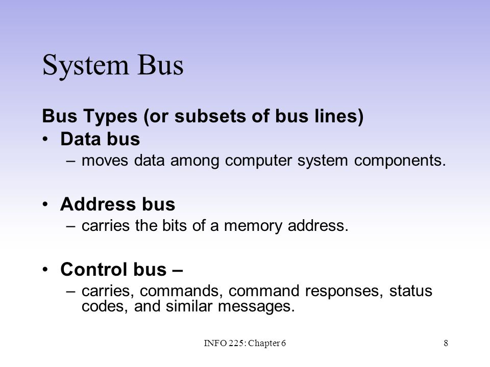 29 Technology Focus - SCSI SCSI: Small Computer System Interface –SCSI is a family of standard buses designed primarily for secondary storage devices.