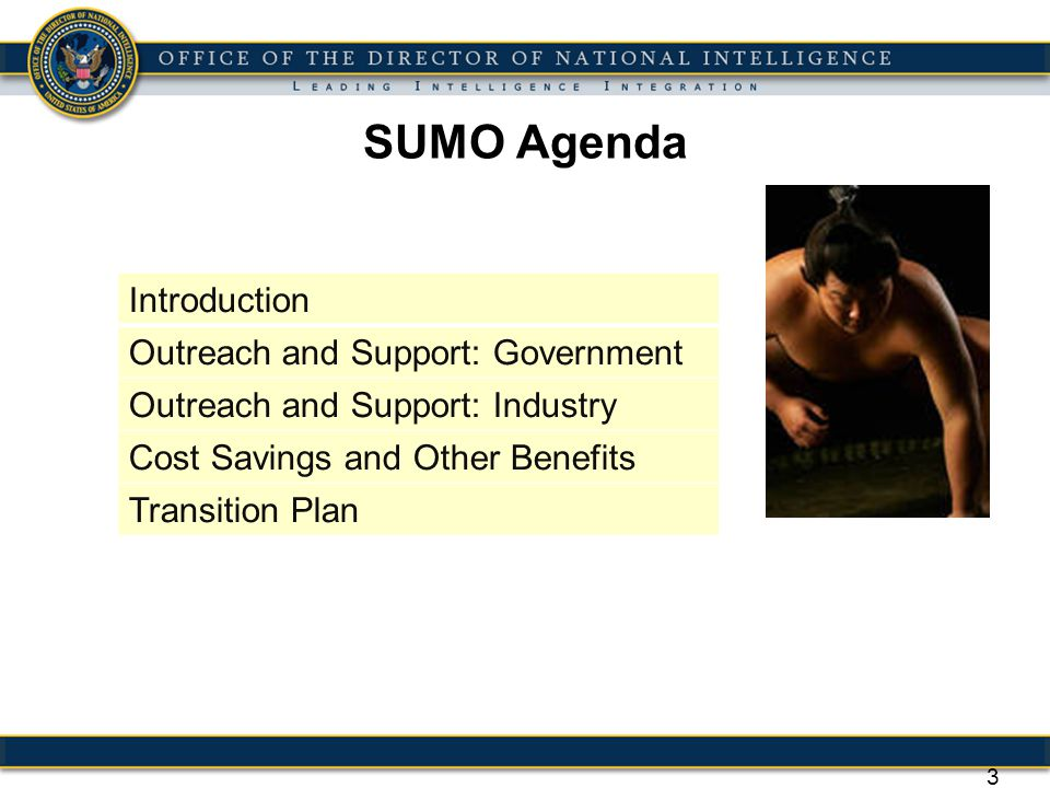 34 SUMO Transition Plan Phasing Phase 1 - Universal Components – Selected Set of Components Qualified Over Broad Range of Performance and Environmental Requirement Envelopes Performance, Common Qualification Environment (CQE), Test Approach, Parts/Matls/Processes Phase 3: Standard Vehicle Interfaces - Play Side Adaptors needed less as the bus I/F becomes standardized to accept components.
