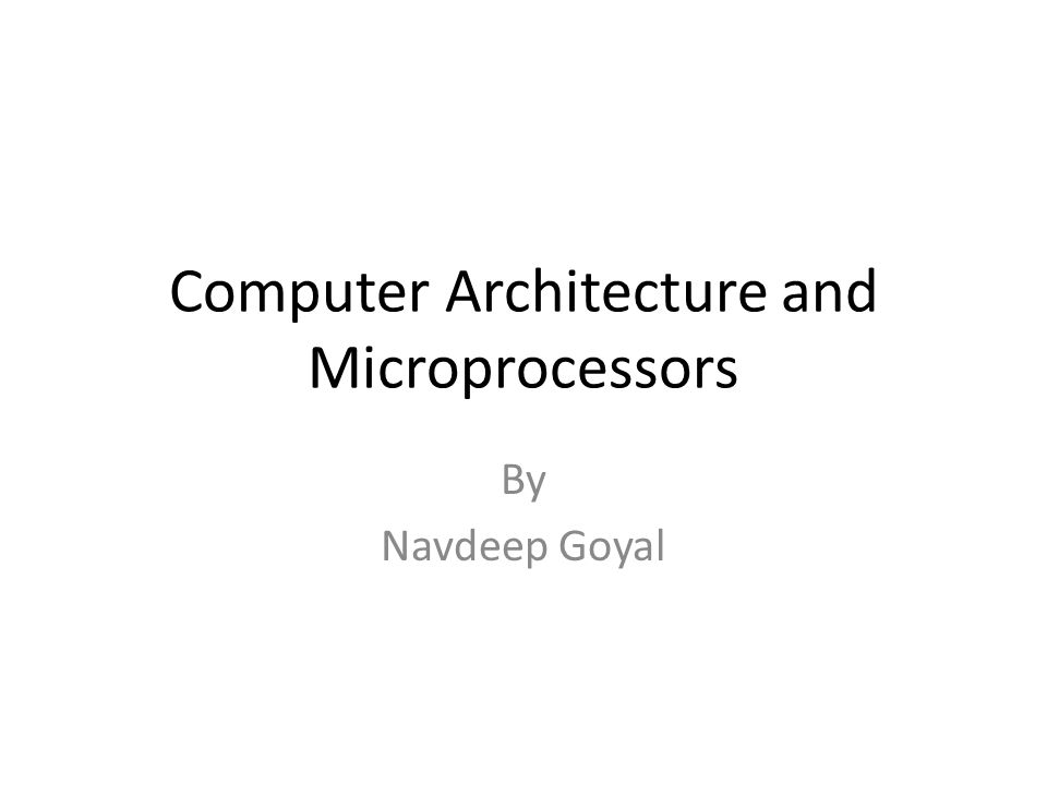 Purpose of Talk What are the advantages of teaching these topics to physics students To discuss the curriculum for teaching microprocessors to physics students Introduction to SAP-1 8085 microprocessor