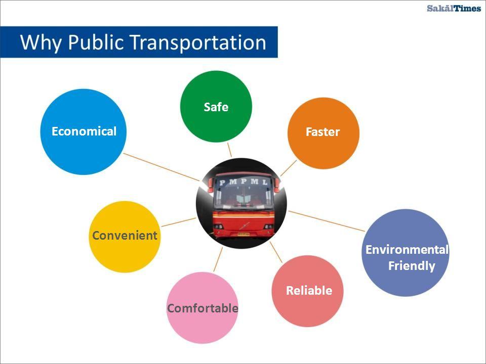 Safe Convenient Comfortable Reliable Environmental Friendly Faster Economical
