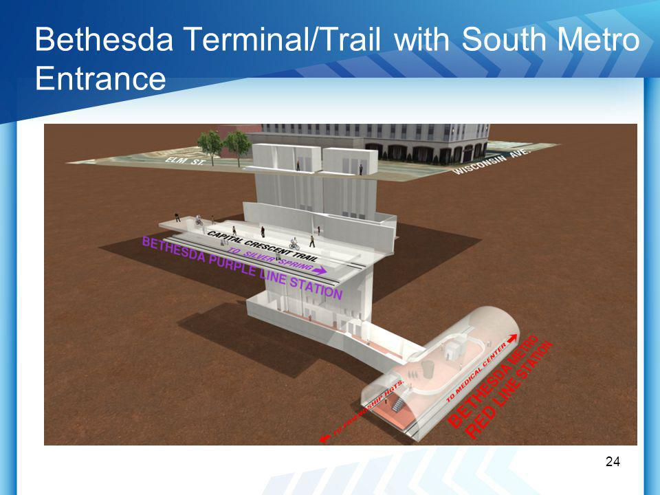 Bethesda Terminal/Trail with South Metro Entrance 24