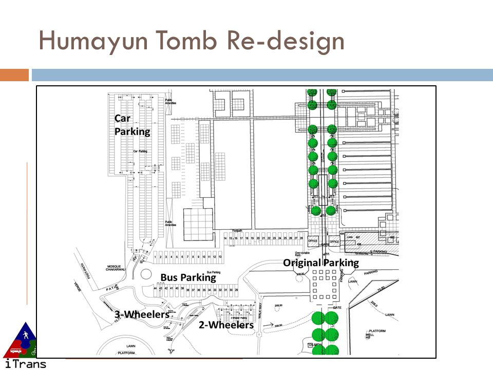Humayun Tomb Re-design