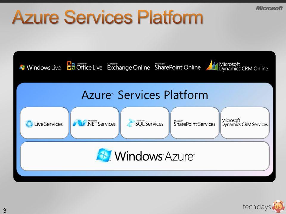 Azure Services Platform 3