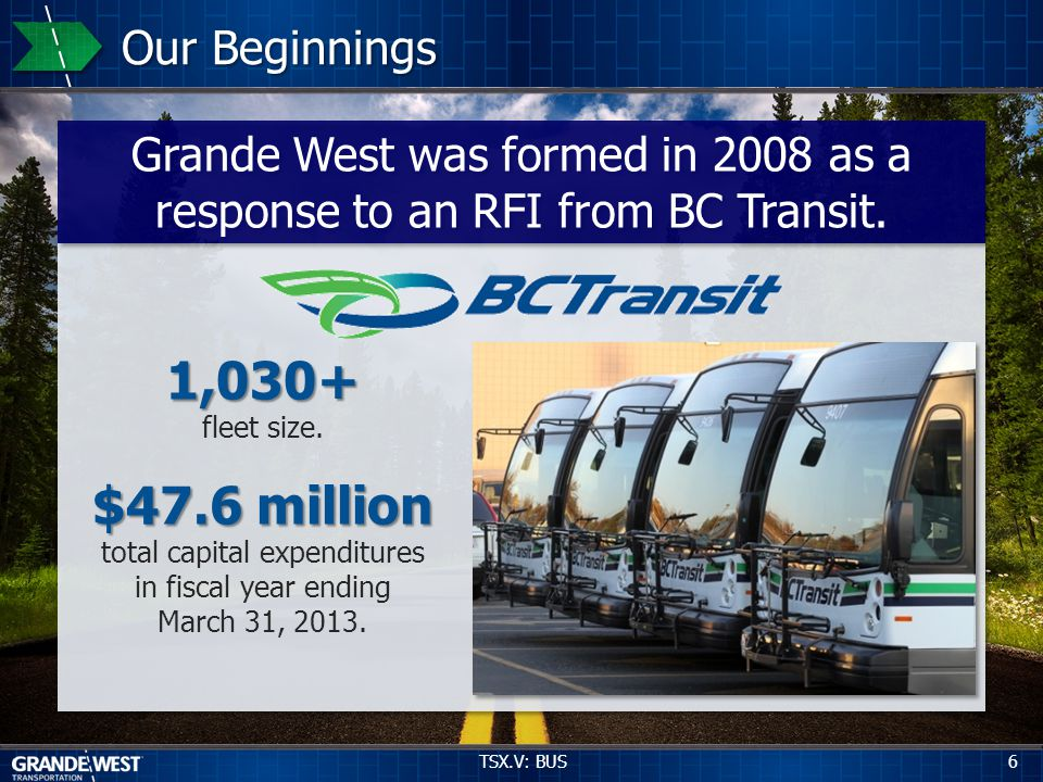 3 Years R&D Designed and developed based upon critical input and feedback by BC Transit.