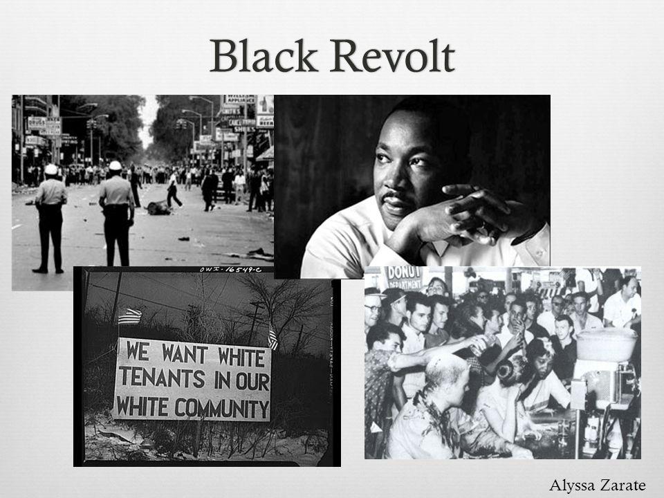 Black RevoltBlack Revolt Alyssa Zarate