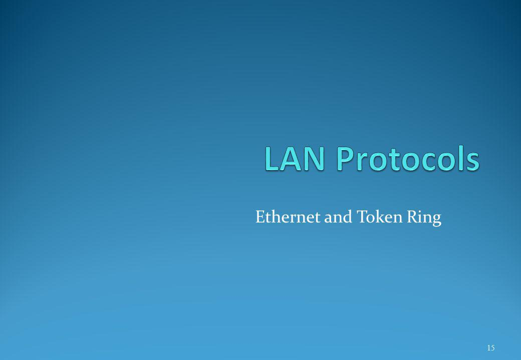 Ethernet and Token Ring 15