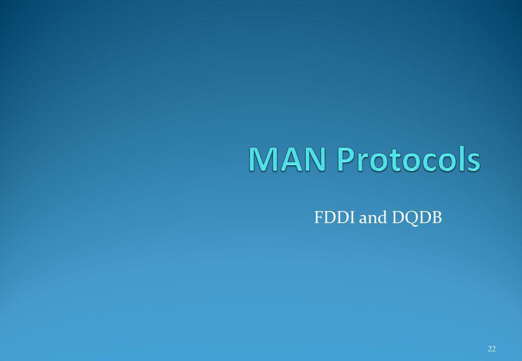 FDDI and DQDB 22