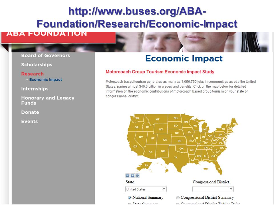http://www.buses.org/ABA- Foundation/Research/Economic-Impact