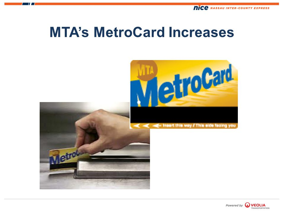 MTAs MetroCard Increases