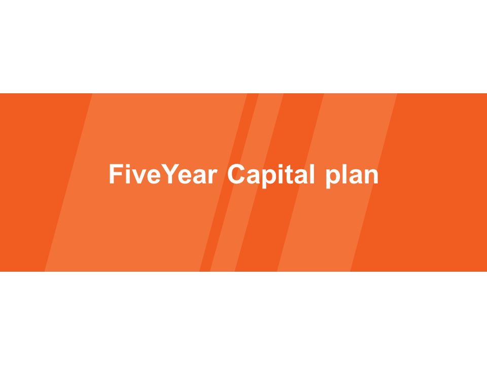 FiveYear Capital plan