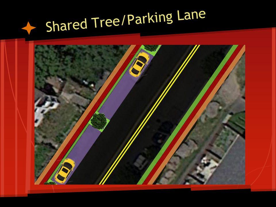 Shared Tree/Parking Lane