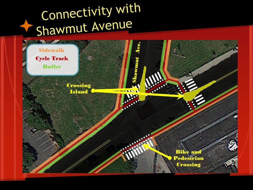 Connectivity with Shawmut Avenue