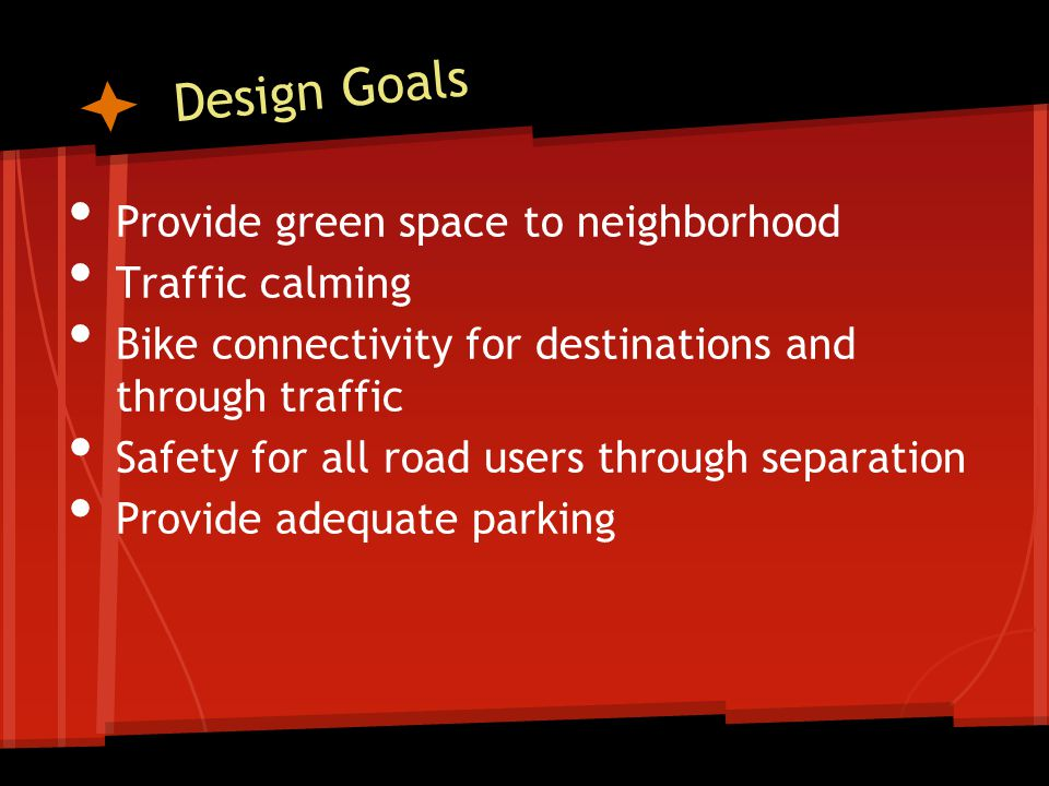 Design Principles Used in Roadway Redesign Holland Examples