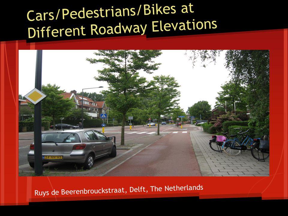 Inline Bus Stops - West side Cycle track crossing behind bus stop 6 Sidewalk 11 Travel Lane Plus 2 Buffer 11 Travel Lane 6 Green space 6 Sidewalk 6 Bus Platform 5 Cycle Track