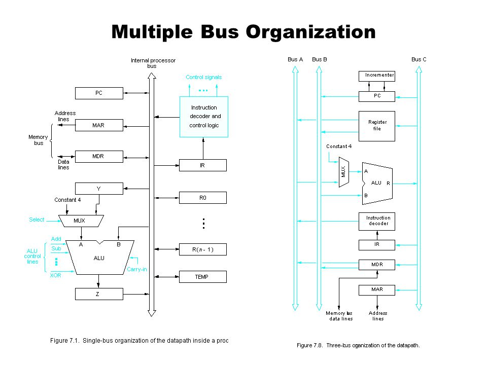 Multiple Bus Organization