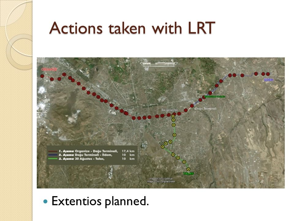 Actions taken with LRT Extentios planned.