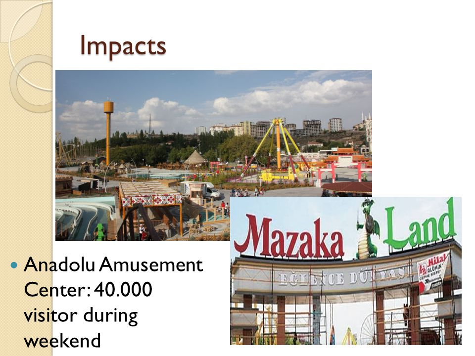 Impacts Anadolu Amusement Center: 40.000 visitor during weekend