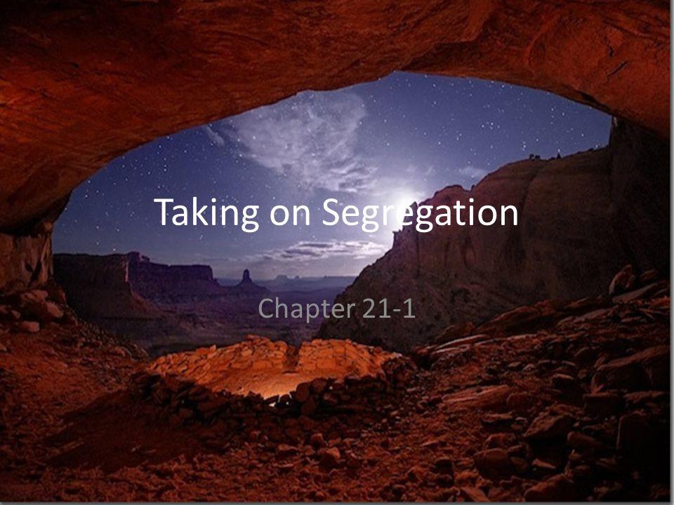 Taking on Segregation Chapter 21-1