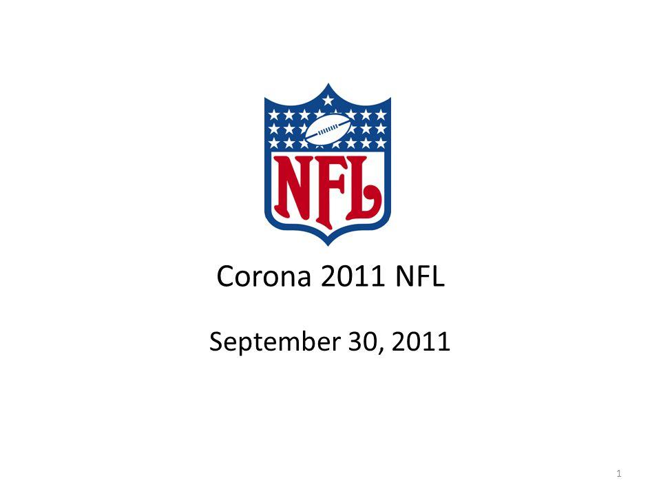 Corona 2011 NFL September 30, 2011 1