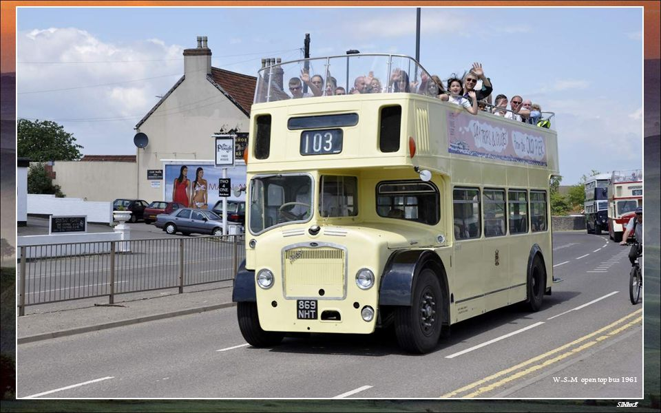 Slide 2Next W-S-M open top bus 1961