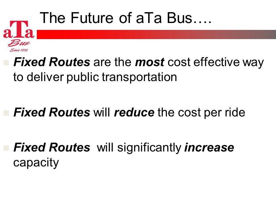 The Future of aTa Bus….