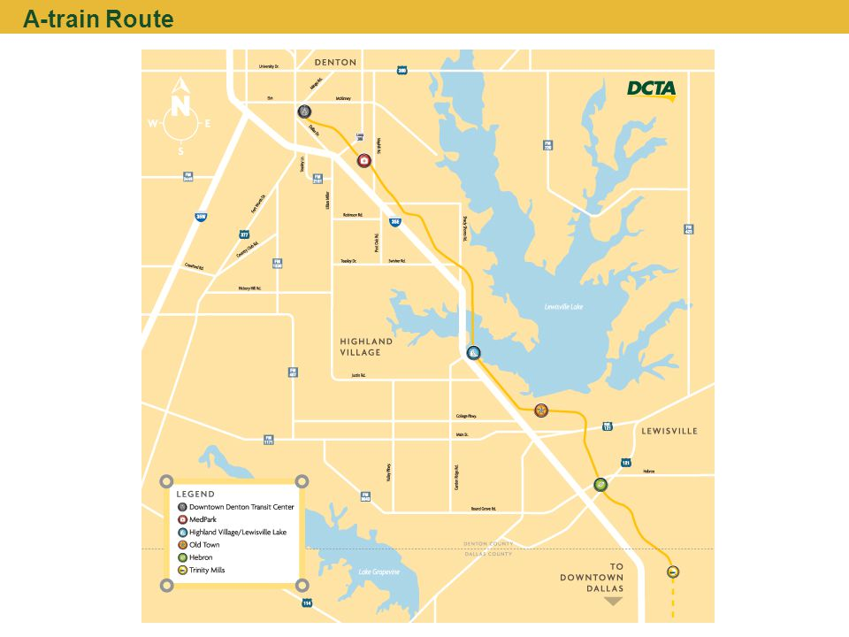 A-train Route