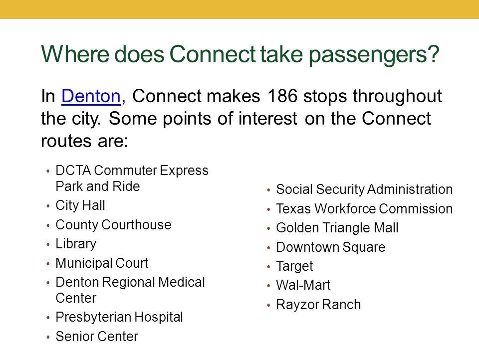 Denton Connect Routes